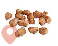 Fried inner fillet parts